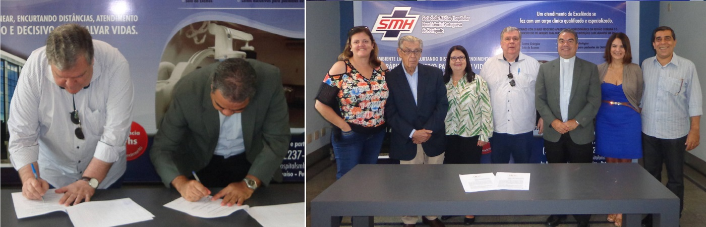 SMH e UCP assinam convênio
